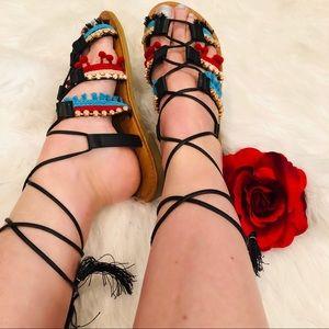 Shoes - 🆕 JUST IN ❗️BEAUTIFUL BOHO FESTIVAL GLADIATORS